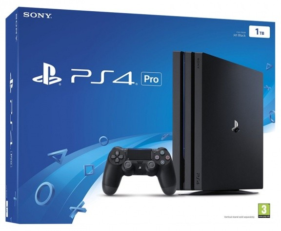 Игровая приставка Sony PlayStation 4 Pro 1TB (черный)